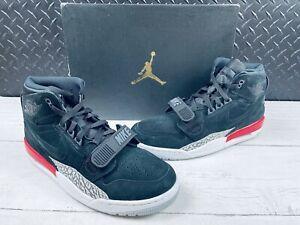 NEW Air Jordan Legacy 312 Sneakers Size 10.5 Black/Black-Red (Style AV3922 060)