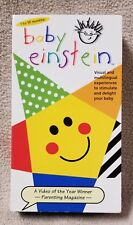 Baby Einstein LANGUAGE NURSERY VHS Video Tape 2000 FHE Rhymes Foreign Languages