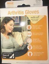 Brownmed IMAK Compression Arthritis Gloves Natural Pain & Stress Relief Medium