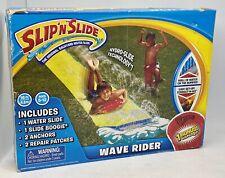 NEW SLIP'N'SLIDE WAVE RIDER Fun Water Slide BONUS Slide Boogie - Damaged Box