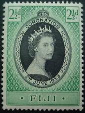 FIJI 1953: CORONATION OF QUEEN ELIZABETH II;  MNH STAMP