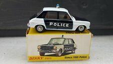 DINKY TOYS ESPAGNE REF 1450 SIMCA 1100 POLICE QUASI NEUVE + BOITE D ORIGINE