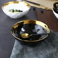 Tableware Marble Ceramic Bowls Glozzy Glaze Top Quality Eco-Friendly Dinner Ware