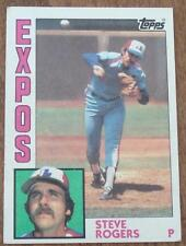 Steve Rogers, Expos 1984 #80 Topps Baseball Card, GOOD CONDITION