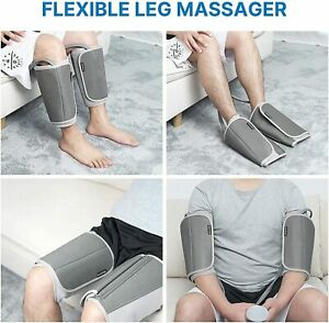 RENPHO Leg Massager for Circulation-Sequential Compression Wraps Calf Massager