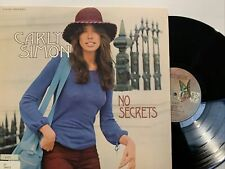Carly Simon – No Secrets LP 1972 Elektra – EKS-75049 EX/NM