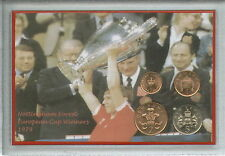 Nottingham Forest Vintage European Cup Final Winners Retro Coin Gift Set 1979