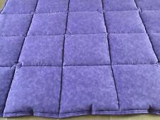 Purple 5lb. weighted blanket, sensory, autism-37in. by 42in.