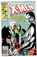 X-MEN #210 (VF/NM) 1st Marauders! Mutant Massacre! Wolverine! Newsstand! 1986