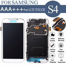 LCD Display Touch Screen Digitizer Assembly Frame for Samsung Galaxy S4 I9505
