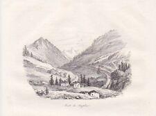 Route du Simplon canton du Valais ACCIAIO CHIAVE DI 1835 Simplon pass SUISSE SVIZZERA