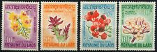 Laos 1967 SG#215-218 Flowers MNH Set #D58923