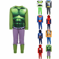 Para Niños Marvel Disney Superhéroe Pijama Pj Pyjama Set de Edad 18m To 8yrs