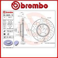 09.A820.1X#87 DISCO FRENO ANTERIORE SPORTIVO BREMBO XTRA AUDI A4 Avant (8K5, B8)
