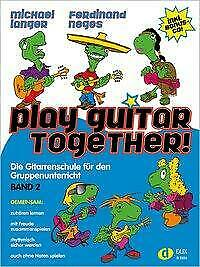 Play Guitar Together Band 2 - Michael Langer / Ferdinand Neges - 9783868492637