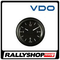 VDO VIEWLINE Clock Analogue gauge FREE DELIVERY WORLDWIDE!!! 52mm diameter