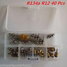 40Pcs R12 R13a Autos A/C Air Conditioning Valve Core Remover Tool Assortment Kit