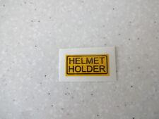 HONDA CBX CB XL TL XR CX VF GL HELMET HOLDER DECAL STICKER CB400F CB550F CB500