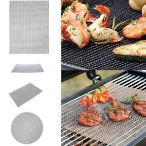 3 Stil BBQ Grillen Grill PTFE Ersatz Netz Draht Netz Außenbereich Kochen