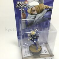 Nintendo amiibo Sheik Super Smash Brothers series Switch Wii U 3DS JAPAN
