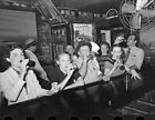 "1938 Drinking Beer, Raceland, Louisiana Vintage/ Old Photo 8.5"" x 11"" Reprint"