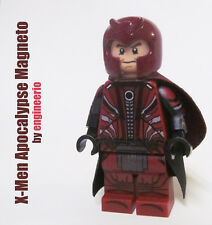 LEGO Custom X-Men Apocalypse Magneto Marvel Super heroes wolverine MCU mini fig