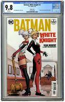 DC Batman White Knight #3 Harley Quinn Variant 1st Neo Joker CGC 9.8