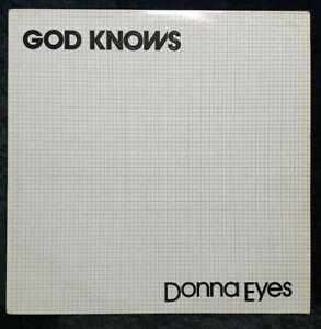 "Donna Eyes:God knows 12"" Italo Disco"