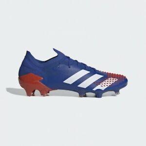 Adidas Predator Mutator 20.1 Low FG Soccer Cleat Blue /Red FV3549  Mens Size 10