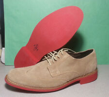 Cole Haan Men Suede Shoes Size 9.5 M Milkshake Drake Eva Wings NIB C11216