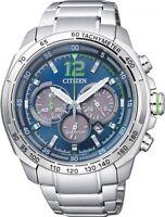 Citizen Eco-Drive Chronograph 100m Men's Sports Watch CA4230-51L