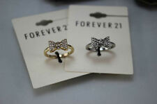 Unbranded Diamond Bow Costume Rings