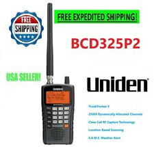 Uniden Police Scanner BCD325P2 Digital Radio Handheld Mobile Trunking Antenna