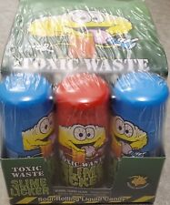 Full Sealed Case Toxic Waste Slime Lickers Sour Rolling Liquid