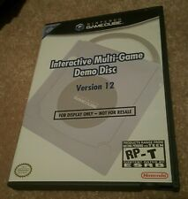 Gamecube Interactive Multi-Game Demo Disc Version 12 GC Kiosk NFR Not for Resale