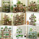 New 30-Design Tall XXL-Large Garden Wooden Plant Stand Planter Flower Pot Shelf