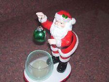 Dept. 56 Santa Votive Holder Two Ornaments To Hang