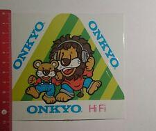 ADESIVI/Sticker: ONKYO HI-FI (081116169)