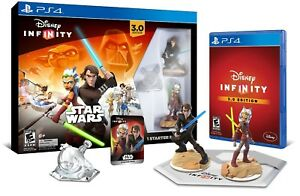Disney Infinity 3.0 Star Wars Starter Pack Play Set [Sony PlayStation 4 PS4] NEW
