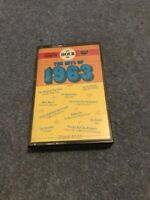 AN HOUR OF THE HITS OF 1963 - CASSETTE TAPE ALBUM - 28 TRACKS - EXCELLENT.