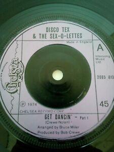 Disco Tex & the sex o lettes - Get Dancin pt 1/Pt 2 on Chelsea label. Soul origi