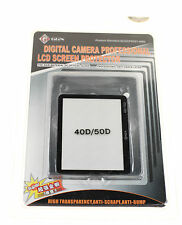 GGS Protector de Pantalla LCD para Canon EOS 40D y EOS 50D Nuevo