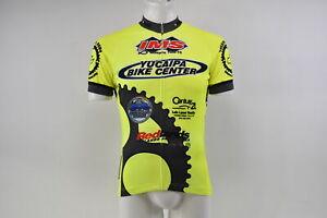 Verge V Gear Yucaipa Bike Men's S/S Cycling Jersey, Neon Yel, FZ, M, Brand New