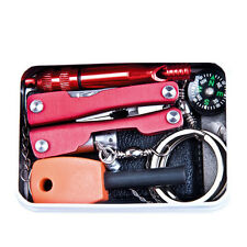 Outdoor Emergency Survival Kit First Aid Box For Camping Survival Gear Tool