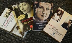 ❤️  Bücherpaket 2. Weltkrieg - Sarah tanzt, Nachtmarsch, Königskinder,...