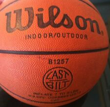 VINTAGE WILSON BASKETBALL - Cast Bilt - B1257 - PRO 285 - NBA- Display *RARE*