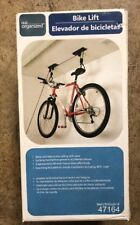 Real Organized Bike Lift - Bicycle Lift, Organizer, Easy To Install #47164 NEW