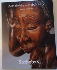 ART D'afrique et d'Oceanie  sotheby's Paris 30 NOVEMBRE 2010 catalogue
