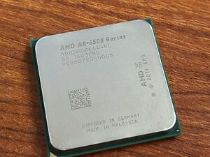 AMD A8-6500 Series AD65000KA44HL Quad Core CPU Processor 3.5GHz Socket FM2