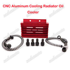 Red CNC Radiator Oil Cooler For 125 140cc 150cc YX Lifan Zongshen Pit Dirt Bike
